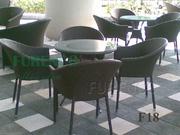 Ảnh số 23: Bàn ghế cafe mây nhựa F18 - Giá: 505.000