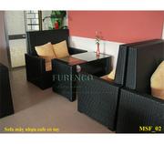Ảnh số 4: sofa mây nhựa - Giá: 1.000.000