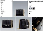 Ảnh số 28: ♥ ZARA MESSENGER BAG WITH FUR FOLDOVER FLAP - Giá: 1.160.000