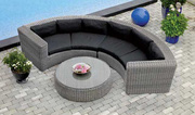 sofa mây nhựa thiết kế độc đáo sang trọng sự lựa chọn hoàn hảo cho phòng khách nhà bạn