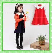 Ảnh số 98: Đầm đỏ cổ sen cực xinh - Giá: 160.000