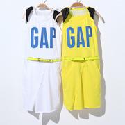 Ảnh số 34: Đầm liền phong cách thể thao kèm dây nịt - Giá: 200.000