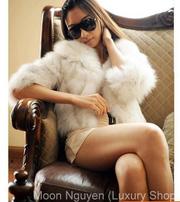 Ảnh số 25: Áo lông thỏ tay lỡ ( Ánh kim bạc ) - Giá: 1.200.000