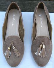 Ảnh số 16: Giày búp bê nơ chuông xám - Giá: 290.000