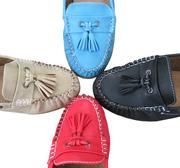 Ảnh số 20: Giày búp bê chuông xanh cách điệu - Giá: 230.000