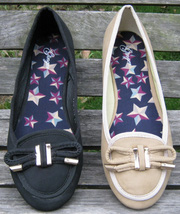 Ảnh số 31: Giày búp bê đơn giản đen - Giá: 280.000