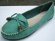 Ảnh số 35: Giày búp bê đơn giản nơ chéo hồng - Giá: 290.000