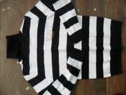 Ảnh số 6: Áo len nữ kẻ ngang đen trắng hàng Vn - Giá 50k - Giá: 50.000