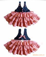 Ảnh số 1: Đầm Jean tầng phá cách thật xinh - Giá: 190.000