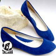 Ảnh số 44: Giày bup bê da lộn cách điệu  B012 - Giá: 250.000