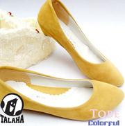 Ảnh số 47: Giày bup bê da lộn cách điệu  B012 - Giá: 250.000