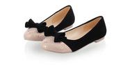 Ảnh số 51: Giày bup bê thắt nơ dễ thương cách điệu  B013 - Giá: 250.000