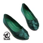 Ảnh số 54: Giày bup bê satin mũi đan chéo thời trang  B014 - Giá: 320.000