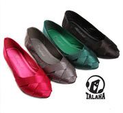 Ảnh số 55: Giày bup bê satin mũi đan chéo thời trang  B014 - Giá: 320.000