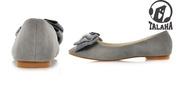 Ảnh số 69: Giày bup bê nơ công chúa lông mịn B018 - Giá: 260.000