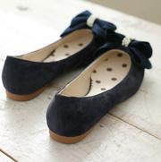 Ảnh số 70: Giày bup bê nơ công chúa lông mịn B018 - Giá: 260.000