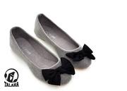 Ảnh số 86: Giày bup bê vải nhung nơ hoa ấm áp B022 - Giá: 260.000