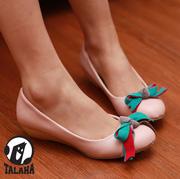 Ảnh số 94: Giày bup bê thắt nơ nhiều màu sắc B024 - Giá: 280.000