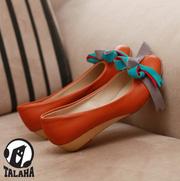 Ảnh số 95: Giày bup bê thắt nơ nhiều màu sắc B024 - Giá: 300.000