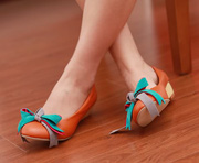 Ảnh số 96: Giày bup bê thắt nơ nhiều màu sắc B024 - Giá: 300.000