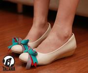 Ảnh số 97: Giày bup bê thắt nơ nhiều màu sắc B024 - Giá: 300.000