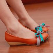 Ảnh số 98: Giày bup bê thắt nơ nhiều màu sắc B024 - Giá: 300.000