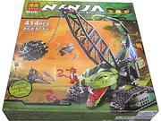 Ảnh số 5: Bộ Ninjago - Cuộc chiến với cần cẩu rắn khổng lồ - Giá: 380.000