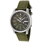 Ảnh số 1: Đồng hồ Seiko Mens SNK805 Seiko 5 Automatic Green Canvas Strap Watch - Giá: 2.180.000