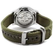 Ảnh số 2: Đồng hồ Seiko Mens SNK805 Seiko 5 Automatic Green Canvas Strap Watch - Giá: 2.180.000