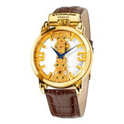 Ảnh số 2: Đồng hồ Stuhrling Original Mens 165E.3335K31 Classic Winchester Spire Mechanical Skeleton Gold Tone Watch - Giá: 5.932.000