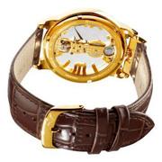 Ảnh số 3: Đồng hồ Stuhrling Original Mens 165E.3335K31 Classic Winchester Spire Mechanical Skeleton Gold Tone Watch - Giá: 5.932.000