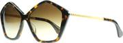Ảnh số 2: Mắt kiếng Miu Miu 11NS 2AU6S1 Tortoise 11NS Butterfly Sunglasses Lens Category 3 - Giá: 8.829.000