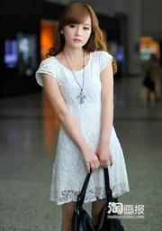Ảnh số 36: Đầm ren trắng DN05 - Giá: 250.000