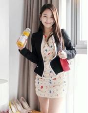 Ảnh số 2: Áo vest nữ Hàn Quốc - AVN05 - Giá: 300.000