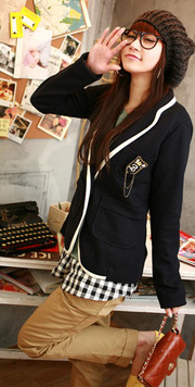 Ảnh số 3: Áo vest nữ Hàn Quốc - 74338 - Giá: 320.000