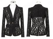 Ảnh số 13: áo vest ren nữ AVN11 - Giá: 270.000
