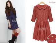 Bộ sưu tập Váy liền thân công sở dạo phố made in Korea