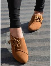 Ảnh số 8: Giày nữ đế thấp thắt dây trang nhã 198,000 đ - Giá: 198.000