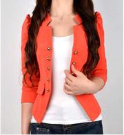 Ảnh số 20: Áo vest nữ màu đỏ cam AVN19 - Giá: 250.000