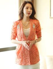 Ảnh số 22: Áo vest nữ màu cam AVN24 - Giá: 270.000