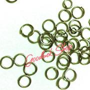 Ảnh số 27: Khoen tròn 1 vòng inox 0.8 x0.8cm - Giá: 10.000