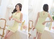 Ảnh số 54: Đầm ren màu vàng gợi cảm DN56 - Giá: 257.000