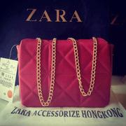 Ảnh số 50: Túi Zara trần trám kiểu kim cương - Giá: 680.000