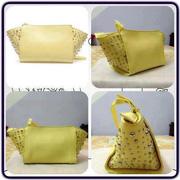 Ảnh số 54: Túi Zara messenger bag with pearls  màu vàng chanh - Giá: 820.000