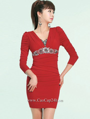 Ảnh số 3: Váy liền thân 28054 - Giá: 3.770.000