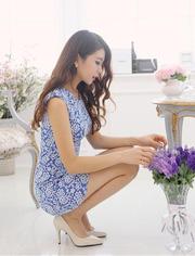 Ảnh số 64: Đầm thời trang hàn quốc ND60 - Giá: 285.000
