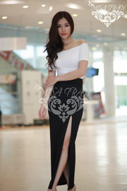 nh s 23: o crop top .chn vy s cao - Gi: 190.000