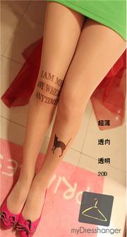 Ảnh số 10: tattoo stockings - Giá: 55.000