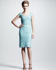 Ảnh số 73: Đầm ren xanh DN75 - Giá: 300.000