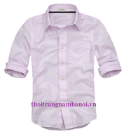 Ảnh số 45: áo somi kẻ sọc hàn quốc - Giá: 190.000
